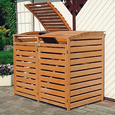 PROMEX Mülltonnenbox Vario III für 2 Tonnen von PROMEX bei Du und dein Garten