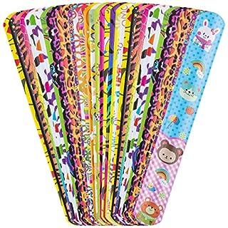 ANPHSIN 36pcs Schnapparmbänder, Kinder Schnapparmband Klatscharmband für Kindergeburtstag, Mitgebsel, Preise, Mitbringsel