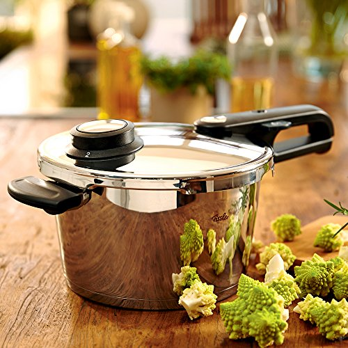 Fissler Schnellkochtopf Edelstahl vitavit premium/4.5 L Dampfkochtopf 22 cm Durchmesser/Induktion, Gas, Ceran, Elektro/620-300-04-070/0