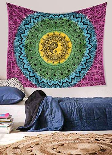 Ying Yang tapestryuk, Tie & Dye, MULTI