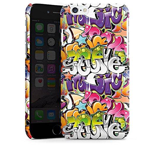 Apple iPhone 5s Housse étui coque protection Graffiti Style Écriture Cas Premium brillant