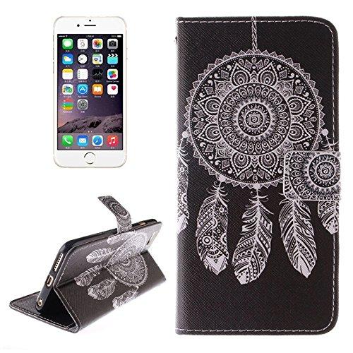Phone case & Hülle Für iPhone 6 / 6S, Pflaumenblütenmuster Doppelseitiger Druck Ledertasche mit Halter & Kartenfächer & Geldbörse ( SKU : S-ip6g-1638g ) S-ip6g-1638e