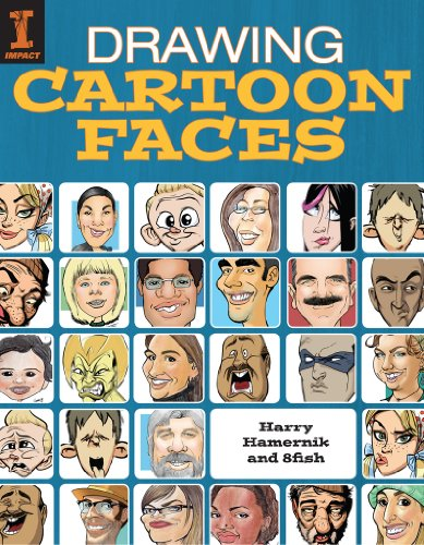 Drawing Cartoon Faces por Harry Hamernik