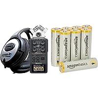 Zoom H-6 - Handy Recorder - MP3 - Wave Recorder - NEU & Amazon Basics Performance Batterien Alkali, AA, 8 Stück (Design…