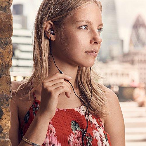 1MORE E1001 Triple-driver Hi-Fi Kopfhörer In-Ear Ohrhörer Hi-Res Audio mit Mikrofon und Fernbedienung Kompatibel mit iOS und Android (golden) - 10