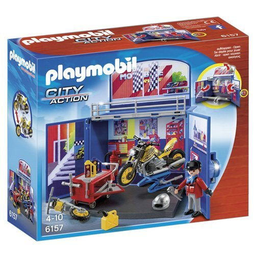 Playmobil - Cofre de Motos 61570
