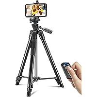 Cocoda Treppiede Smartphone, 126 CM Cavalletto per Smartphone Estensibile per Registrazione Video, Treppiede Fotocamera…