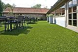 ID matt bambourl12507Kunstrasen Polyethylen-Faser/Latex grün 2500x 100x 3,2cm