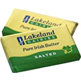 100 x Lakeland Irish Butter Individual Foil Wrapped Portions with GREAT BRITISH TRADING LIMITED Biodegradable Wooden…