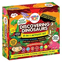 Genius Box - Play some Learning Toys for Children : Discovering Dinosaurs Educational Toys / Learning Kits / Educational Kits / STEAM