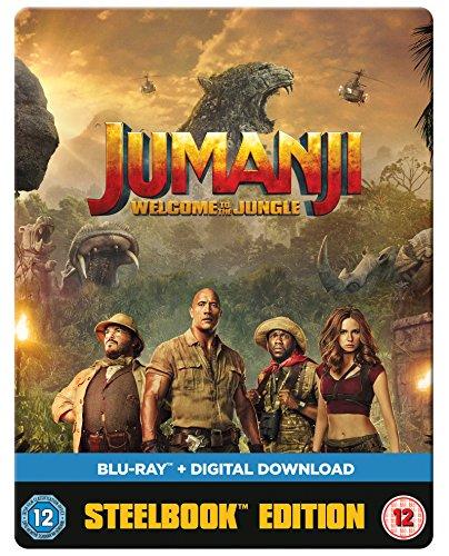 Jumanji: Welcome To The Jungle [Steelbook] [Blu-ray] [2017]