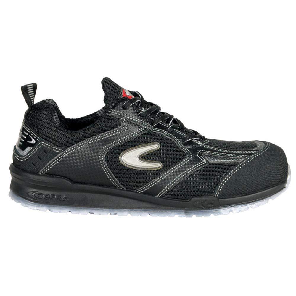 Cofra Sicherheitsschuhe S1P Petri Running sportliche Halbschuhe, Große 47, schwarz, 78450-002