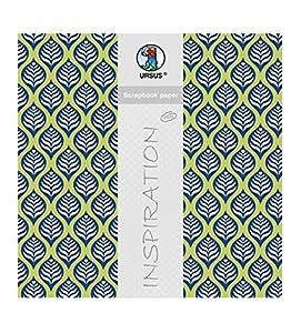Ursus Scrapbook Paper Lotta 1, Aprox. 30,5x 30,5cm, 5Hojas