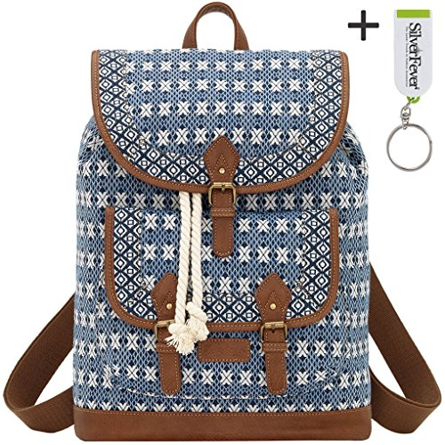 banadana-from-american-west-ebackpack-handbags-sacs-portes-dos-femme-bleu-bleu-tweed-taille-unique