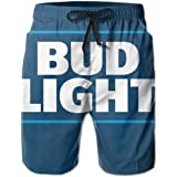 Men's Quick Dry Swim Trunks Beach Shorts Board Shorts with Mesh Lining