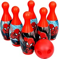 LONGMIRE Bowling Game Set for Kids with 6 Pin 1 Ball Sport Toys Gift for Baby Boys Girls Age 3 4 5 6 Years Old