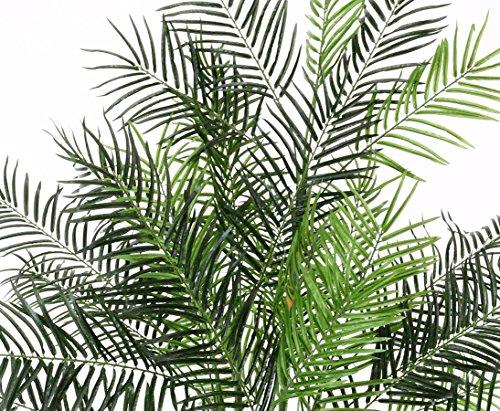 Künstliche Areca Palme 135cm hoch, Steckpflanze – Kunstpflanze Kunstbaum künstliche Palmen Kunstpalmen Dekopalmen Palmen Palmbäume