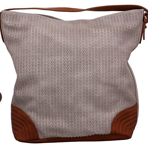 Rieker Damen Taschen Bag Grau (Grau)
