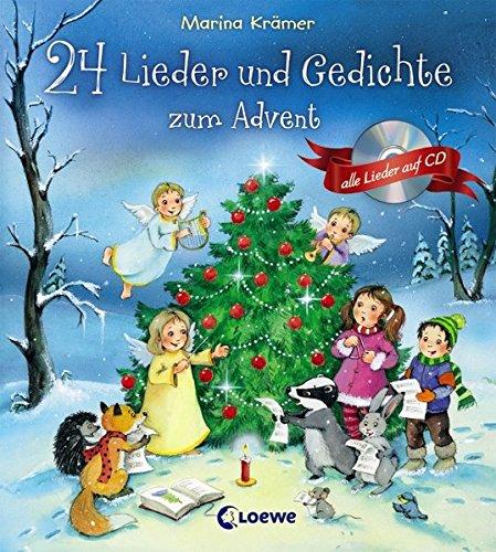 24 Lieder und Gedichte zum Advent: Mit Lieder-CD