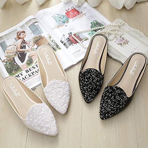 &qq Chaussures femme chaussures flat, cool chaussons, chaussures mode chaussures 42