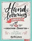 Handlettering: Handbuch mit 50 kreativen Schriften. Mit einer Einführung von Thy Doan Graves - Thy Doan Graves
