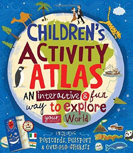 Children's Activity Atlas por Jenny Slater