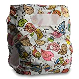 LittleBloom, Reusable Pocket Cloth Nappy, Fastener: Hook-Loop, Set of 1