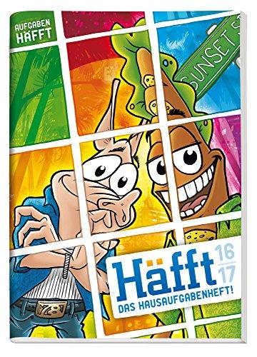 Preisvergleich Produktbild Häfft Original 2016/2017 A5 - Das Hausaufgabenheft!