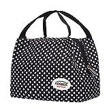 Aosbos Leichte Kühltasche Lunch Tasche Isoliertasche zur Arbeit und Schule gehen 6 Liter, 24,1 x 15,2 x 17,11 cm