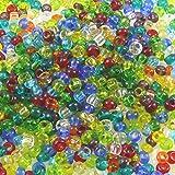 Rocailles 920 St. 9/0 Glasperlen-Mix 2,7mm bunt Perlen Bastelperlen -189
