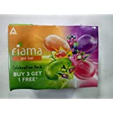 Fiama Gel Bar Celebration Pack, 75g (Buy 3 Get 1 Free), 300 g