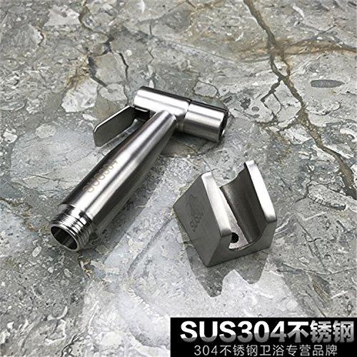 GFEI acier inoxydable 304 toilettes pistolet pulvérisateur robinet ensemble / douche booster douche,b
