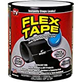 "HSMY Flex Tape Black 4"" x 5'"