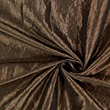 Fabulous Fabrics Taftstoff Crash – braun — Meterware ab
