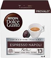 NESCAFÉ Dolce Gusto Espresso Napoli Caffè Espresso, 6 Confezioni da 16 Capsule (96 Capsule)