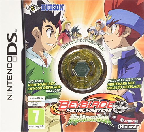 [Import Anglais]Beyblade Metal Masters Nightmare Rex Game DS