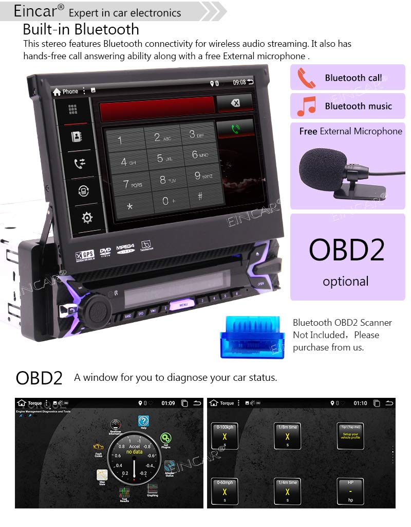Android-71-Stereo-Receiver-1-Lrm-Auto-DVD-Spieler-GPS-Navigation-mit-Untersttzungskamera-7-Touchscreen-LCD-WiFi-Bluetooth-Wireless-Mirrorlink-USB-SD-Slot-AM-FM-RDS-Radio-Fernbedienung