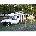 Fiamma F35 Pro 300cm 3m Caravan & Camper Van Awning Deluxe Grey/Titanium 06762D01T 11