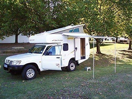 Fiamma F35 Pro 300cm 3m Caravan & Camper Van Awning Deluxe Grey/Titanium 06762D01T 5