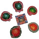 asiacraft® redondo granate Beaded manteles individuales para mesa de comedor ...