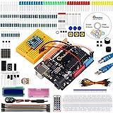 Emakefun MPU-6050, UNO R3 Project Starter Kit w/ TUTORIAL, UNO R3 controller board, SG90 Micro Servo, MPU-6050 accelerometer module for Arduino UNO Project