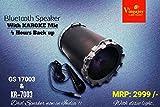 Prithvi™ Vingajoy Wireless Portable Bluetooth Speaker With USB / FM / SD Card Reader / AUX IN (Black)