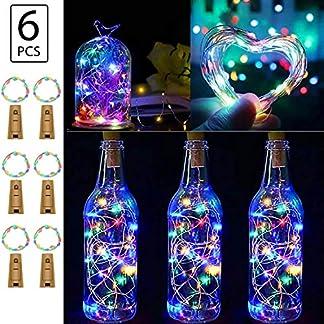 BizoeRade-FlaschenlichterBizoeRade-20-LED-39inch-Kupferdraht-sternenklares-Licht-fr-zeitlich-dekoratives-Weihnachtsfeiertags-Hochzeitsfest