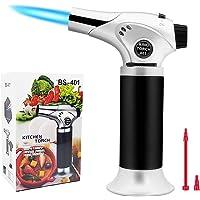Coideal Lampe torche de cuisine rechargeable avec serrure de sécurité 2020 mise à niveau 401, flamme réglable…