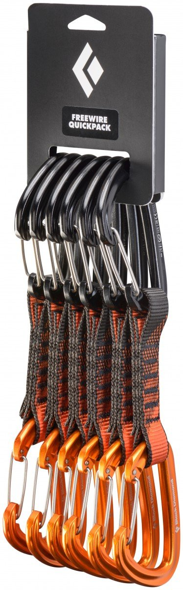 Black Diamond Freewire Qd 12 Cm 6-Pack