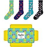 Happy Socks - Caja de regalo de frutas SXPIN09-7000 multicolor 41/46 hombre 4 pares