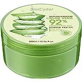 Aloe Vera Gel,Sinicyder Natürliche Feuchtigkeitspflege Aloe Vera Creme Für Gesicht, und Körper, 300ml