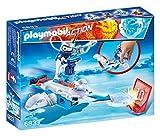 Playmobil Fire & Action - Androide de Hielo con Lanzador (6833)