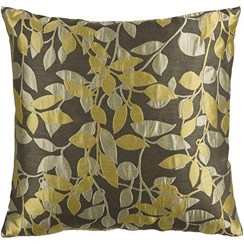 SURYA Teppiche HH060–1818p Dusky Grün, Olive Grey und Split Pea Leaf Muster 18x 18Kissen (Olive Surya)