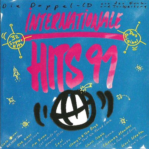 (CD Compilation, 32 Titel, Diverse Künstler) DMA - Gypsy Woman (La Da Dee) / Londonbeat - I've Been Thinking About You / Blue System - Deja vu / Tony Christie - Come With Me To Paradise / Hi-Five - I Like The Way (The Kissing Game) u.a. - Go Games Girls
